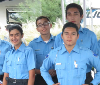 BURBANK PD EXPLORER TEAM COMPETES AND TAKES HOME MEDALS