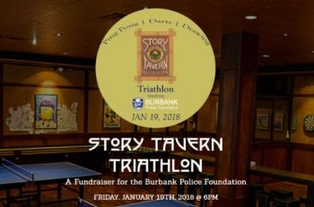 Join Us for the Story Tavern Triathlon Fundraiser - January 19th