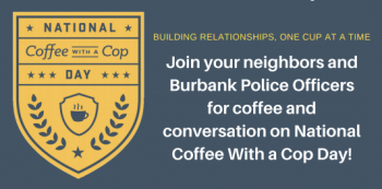 Coffee With a Cop - Oct. 2, 2019