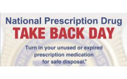 Drug Take Back - Oct. 26, 2019